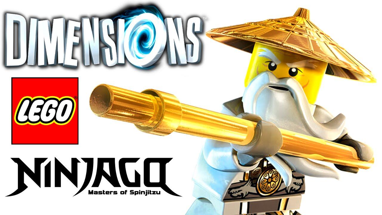 Lego 71234 ninjago sensei wu flying white dragon konsole i - Sensei ninjago ...
