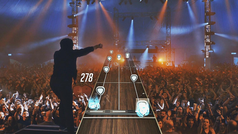guitar hero ;live ps3 na scenie
