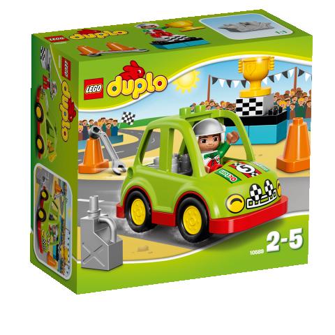Klocki Lego Duplo Auto Wyścigowe