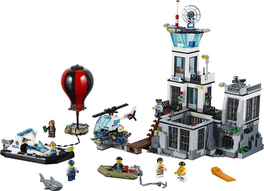 Lego City Więzienna Wyspa 60130 Klocki