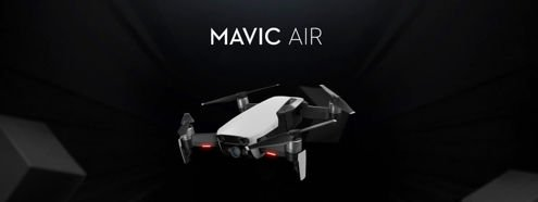 Dron DJI Mavic Air Flame Red (Czerwony) Kamera 4K