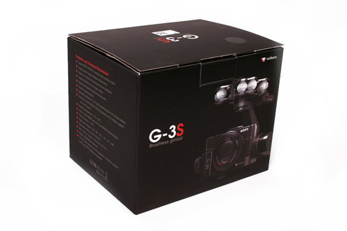 Gimbal Walkera G-3S  do kamery sony RX100 100M3