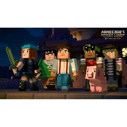 Minecraft Story Mode A Telltale Game Series Season Disc Xbox 360