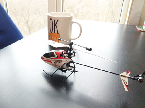 Mini Helikopter RC WL v911