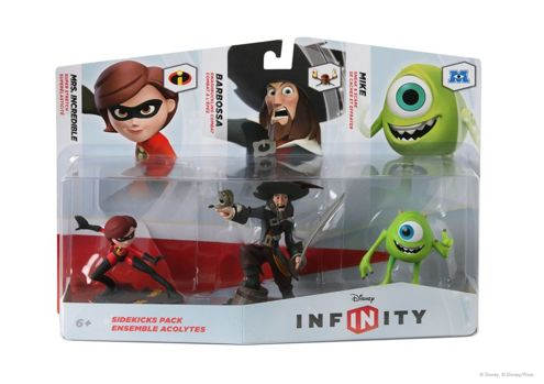 Zestaw Barbossa Incredible DISNEY INFINITY FIGURKI