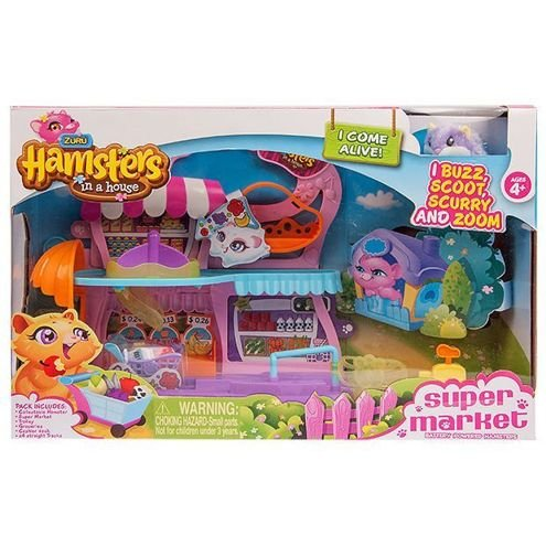 Zuru Hamsters in a House Supermarket Set