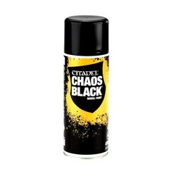 Citadel Chaos Black Czarny Spray Do Modeli 400ml