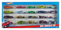 Hot Wheels Coffret 20